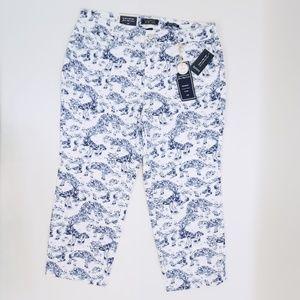 Charter Club Tummy Slim Bristol Capri Pants 14W